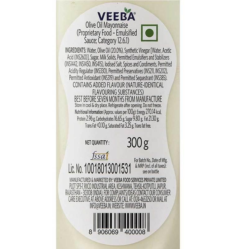 Veeba Olive Oil Mayonnaise
