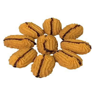 Jam Coconut Biscuits